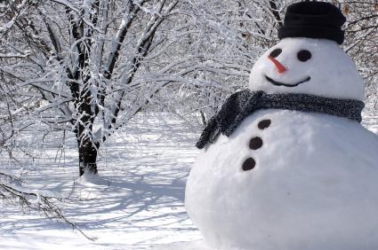 En Haut de la Montagne dans La Gazette Bombardée snowman